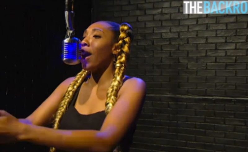 G.L.A.M. Takes Over BET's Backroom & Kicks a Dope Freestyle