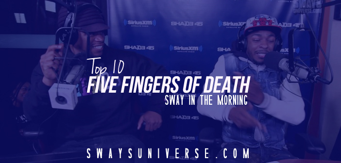Top 10 List: 5 Fingers Of Death
