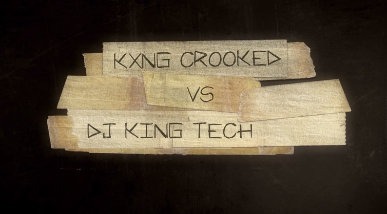 KXNG CROOKED & King Tech's Graffiti Battle