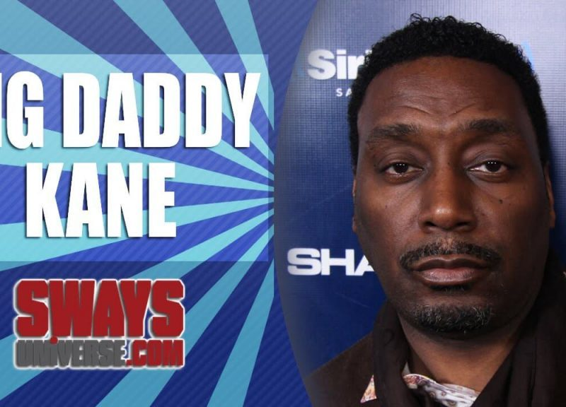 Big Daddy Kane Talks Limited Edition British Walker Shoes, Current Rappers That Motivate Him and Going Bar for Bar with Kool G Rap