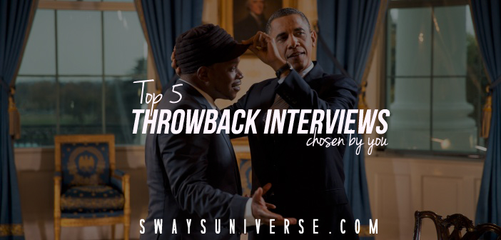 Sway's Top 5 Throwback Interviews