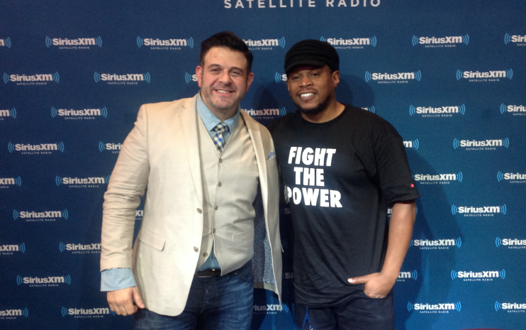 Adam Richman on Best Foods to Serve at Game Parties + a Hip Hop Cooking Show with Sway and Heather B?