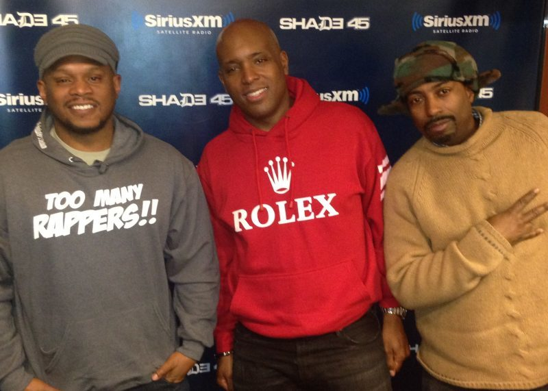 The A&R Room on Sway in the Morning