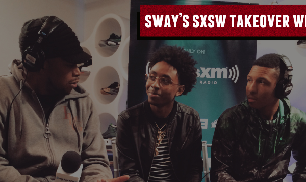 "Sway SXSW Takeover: Local Talent Branzil Names Artists That Inspired Him, Knowing Rap History & Performs ""Ghosts"""
