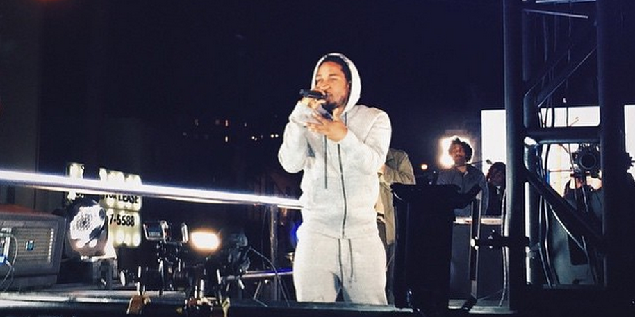 Here's What Went Down During Kendrick Lamar's Surprise Performance in Hollywood