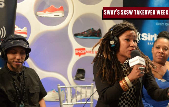 Sway SXSW Takeover: The Reminders on Balancing Life as Husband/Wife + Spit a Dope Freestyle