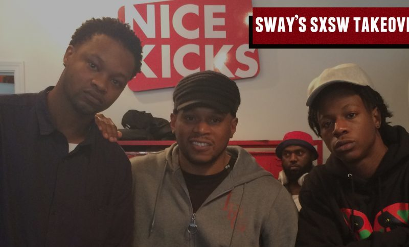 Sway's SXSW Takeover: JoeyBada$$ explains getting gunned down by NYPD & BJ The Chicago Kid speaks on Chi-Town's current struggle