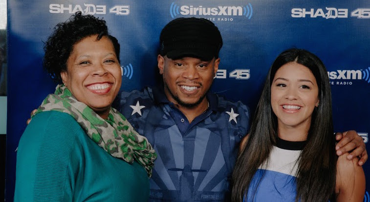 Gina Rodriguez Makes Sway in the Morning Tear Up, Teaches Sway Spanish + Great Advice to Artists