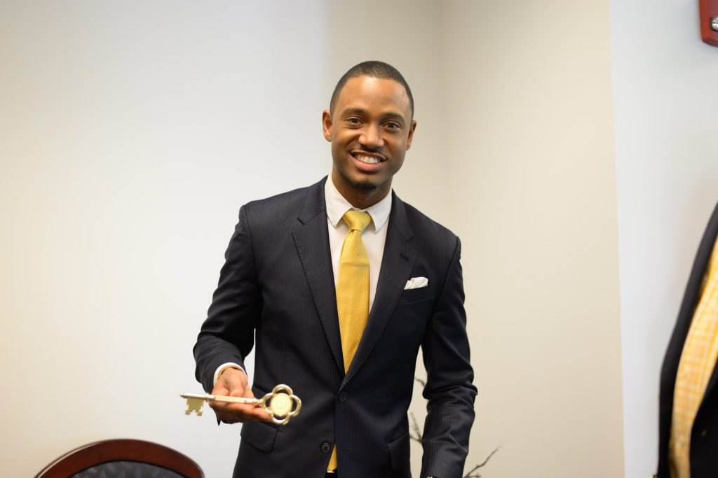 Terrence J Presents $100,000 Endowment Fund to Alma Matar