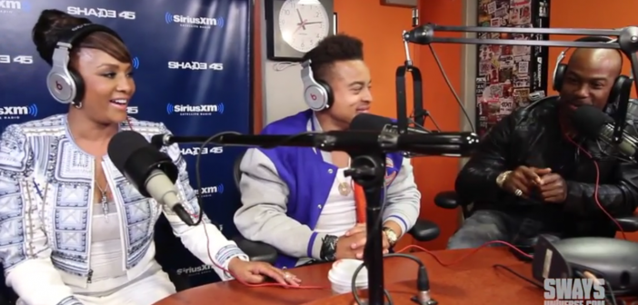 The Cast of Upcoming Independent Film 'Chocolate City' Vivica Fox, Robert Ri'chard and Darrin Henson Swing By Sway in the Morning