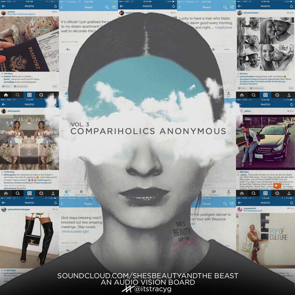 She's Beauty and The Beast: Compariholics Anonymous by Tracy G