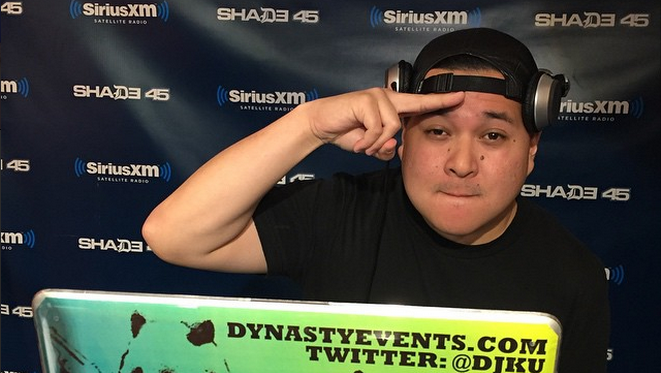 DJ Ku Mixes Live on Sway in the Morning