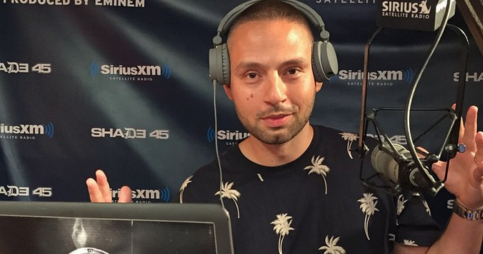 DJ Arem Mixes Live on Sway in the Morning