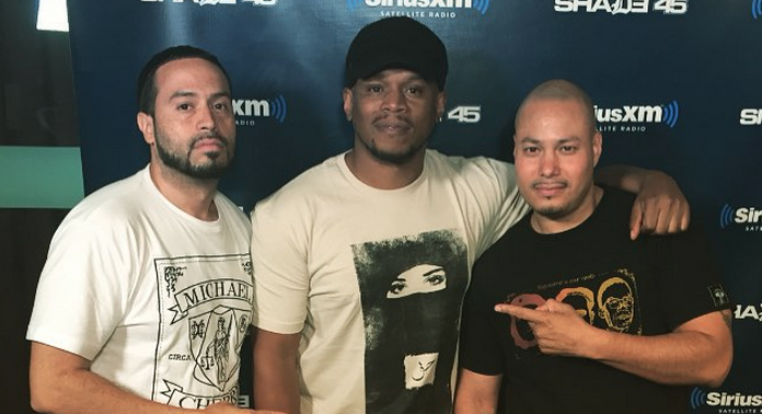DJ Furious Mixes Live on Sway in the Morning