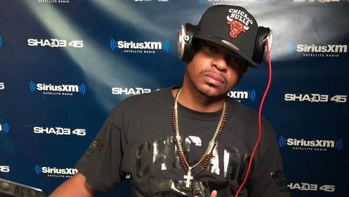 DJ Caesar Mixes Live on Sway in the Morning
