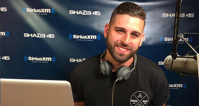 DJ EU Spins Live on Sway in the Morning
