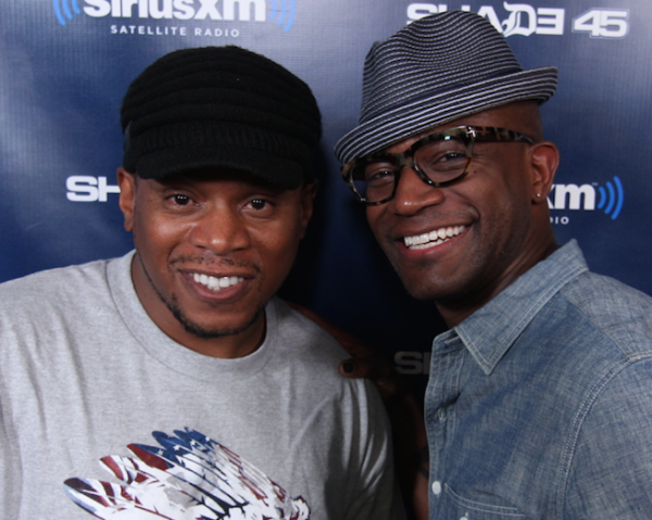 DJ Slym Mixes Live on Sway in the Morning
