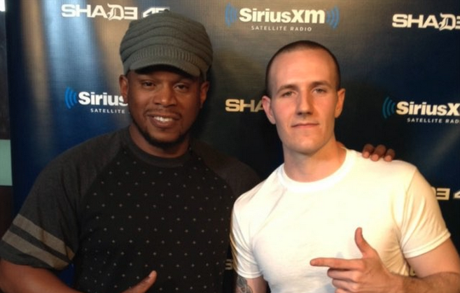 DJ Charlie White Mixes Live on Sway in the Morning