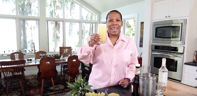 The Happy Hour With HB: Pineapple & Ginger Rum Punch