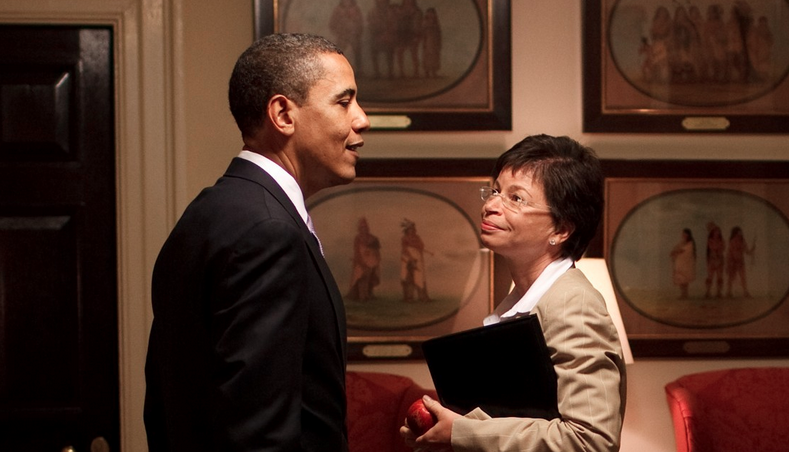 "Senior White House Advisor Valerie Jarrett Joins Sway in the Morning to talk about ""Fixing the System"""