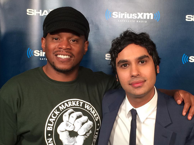 Kunal Nayyar from the Big Bang Theory FREESTYLES, Talks about First Kiss & Making $800k an episode