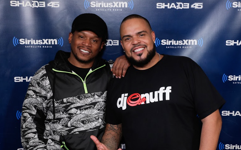 The Heavy Hitter DJ Enuff Mixes Live on Sway in the Morning