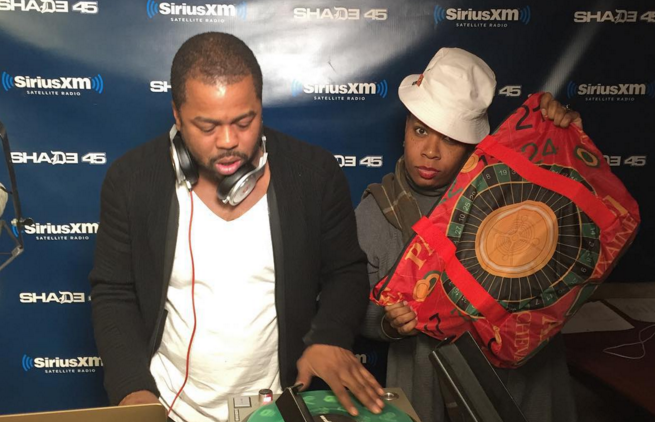 "Just Blaze Plays ""The Roulette Theme"" For the First & Last Time on Sway in the Morning"