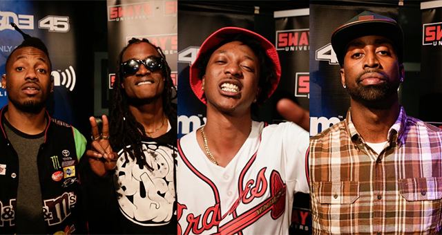 Sway in the Morning ATL Cyphers: Audio Push, Scotty ATL & Sy Ari Da Kid Take Turns Freestyling