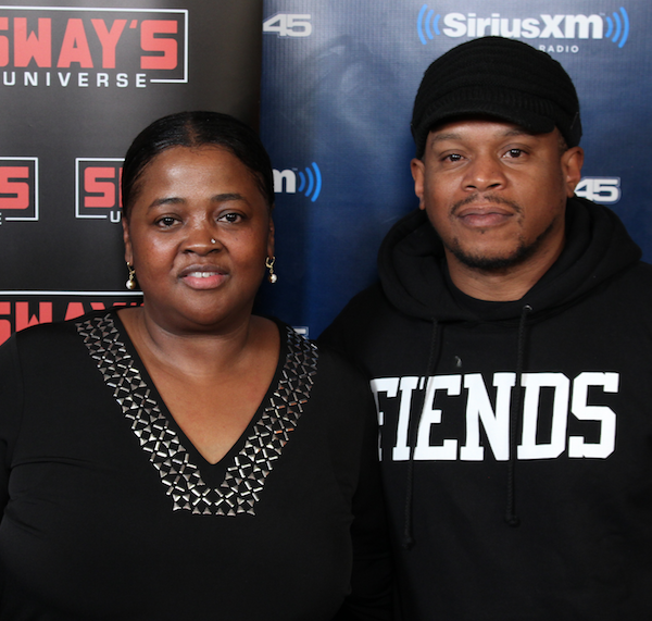 DJ Carisma Mixes Live on Sway in the Morning