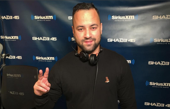 DJ Dolo Mixes Live on Sway in the Morning
