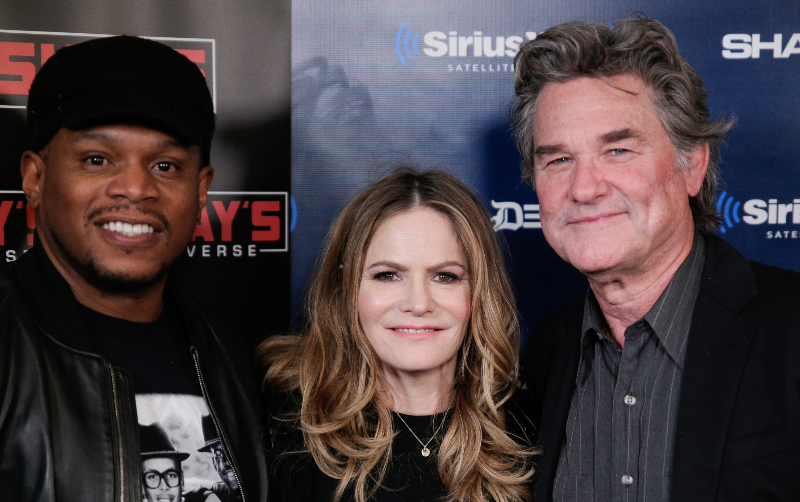 "Jennifer Jason Leigh and Kurt Russell of ""The Hateful Eight"" Speak on the Intricacies of the Film & Say Quentin Tarantino is in a League of His Own"