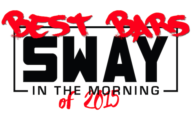 Best Bars on Sway in the Morning of 2015