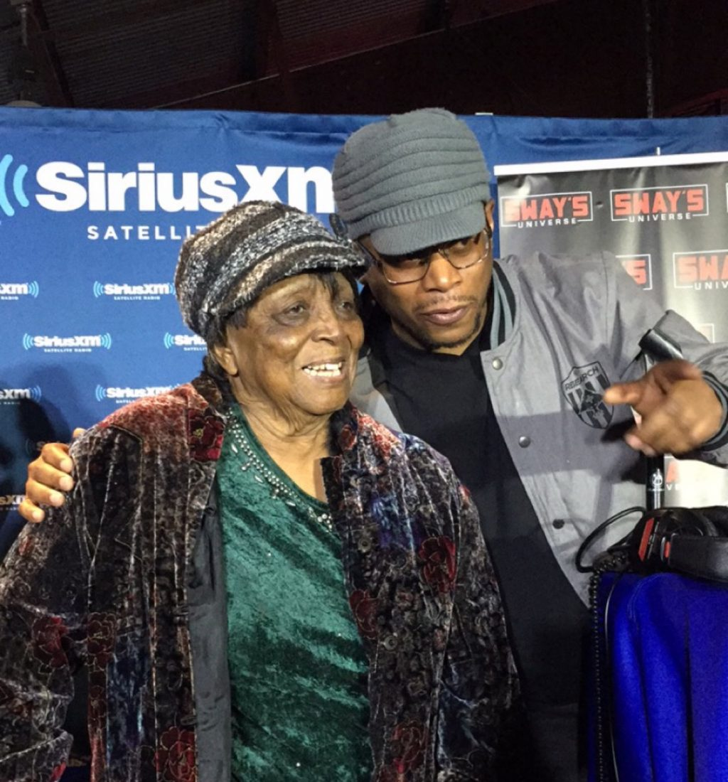 Sway's 91-Year Old Grandmother Joins Him Live On-Air First Time Ever