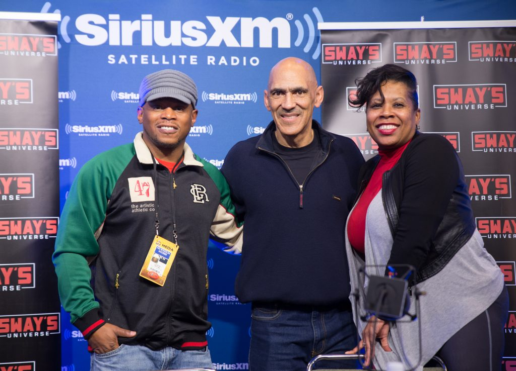 Sway's Super Bowl 2016: First Black Coach to Win the Super Bowl, Tony Dungy on Mentoring Players like Mike Vick