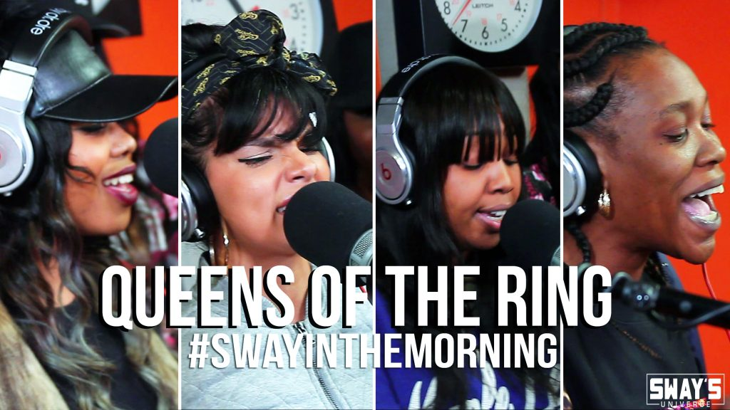 First Friday Fire Cypher of 2016: Queens of the Rings – Babs, MyVerse, EHart, Jaz the Rapper and Star Smilez