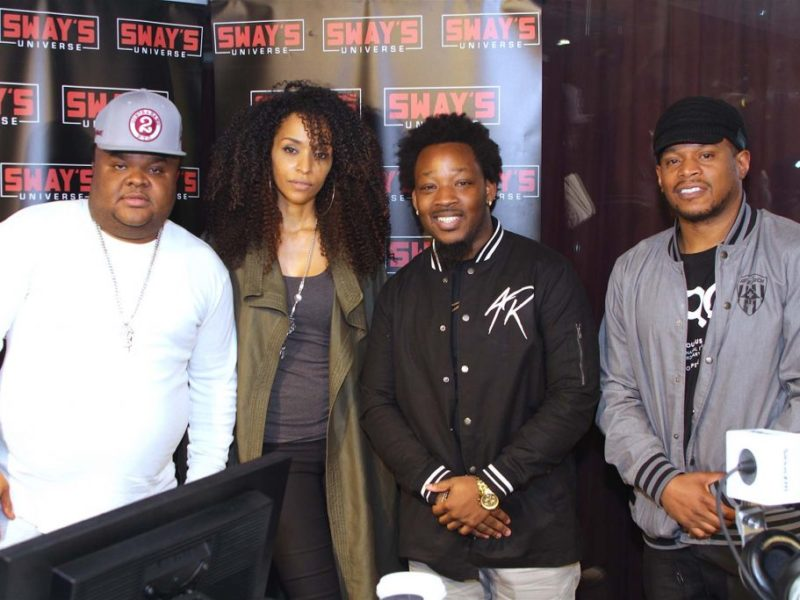 Sway Executive Produces First LIVE Song Ever! Fred the Godson, Army Regime and Introducing Katt Rockell