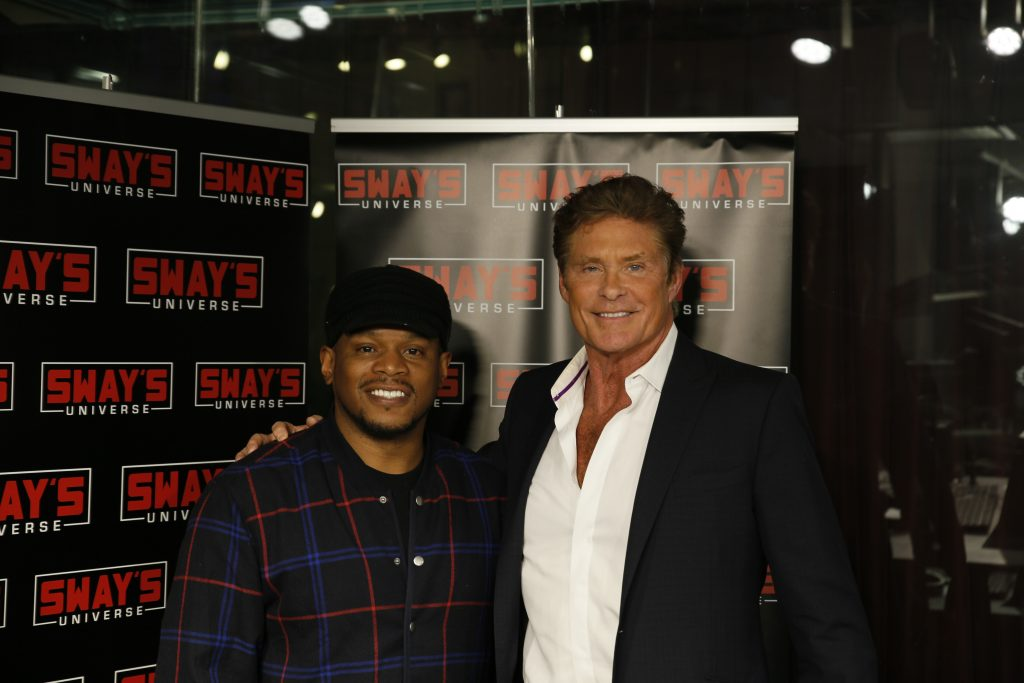 David Hasselhoff Speaks on His Kiss With Lady Gaga, the Upcoming Baywatch Movie, and his New Show