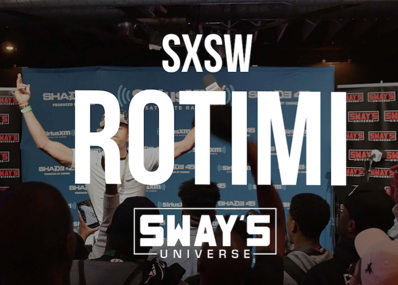 "Sway SXSW Takeover 2016: Rotimi Performs His 50 Cent Assisted Single ""Lotto"""