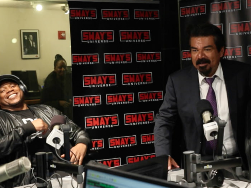 "George Lopez Jokes About Race + Plugs New Show ""Lopez"""