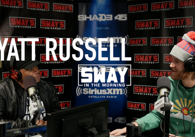 Wyatt Russell Comments On The War On Drugs, His New Movie, + Dips His Hand In Sway's Mystery Sack