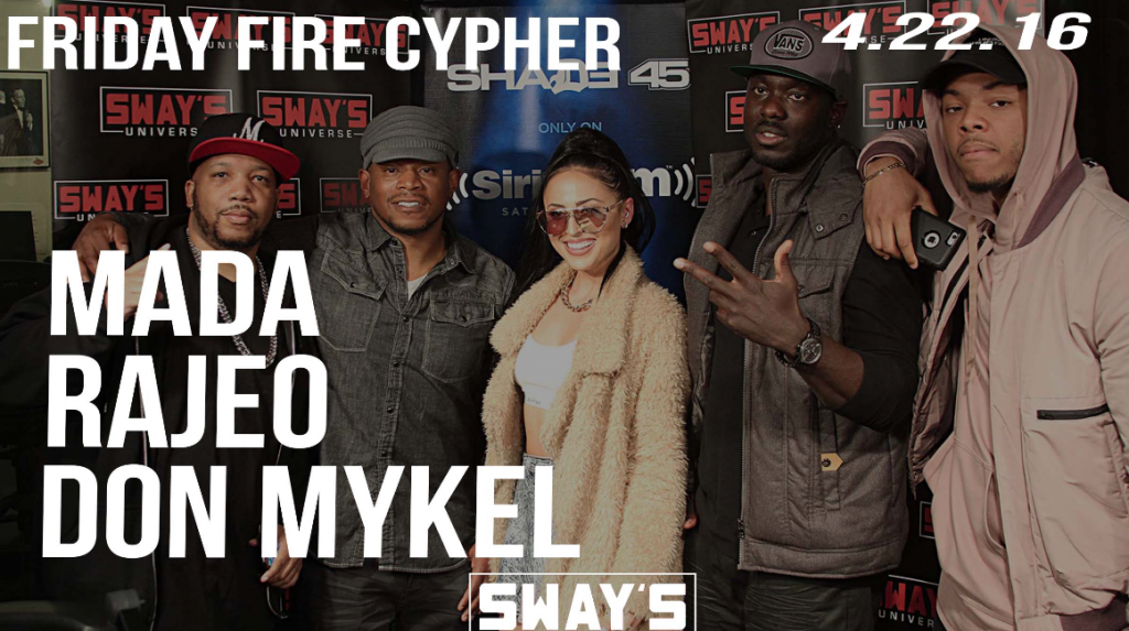 "Friday Fire Cypher: Mada, Don Mykel and Rajeo Drop Bars on Production from Mike Mosley + Come Together for a Sway in the Morning Exclusive Track ""We Used To Ride"""