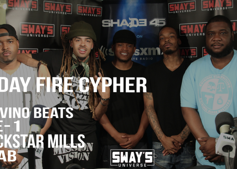 Friday Fire Cypher: MarvinO Beats, Collective Cypher, Blockstar and Ar-Ab