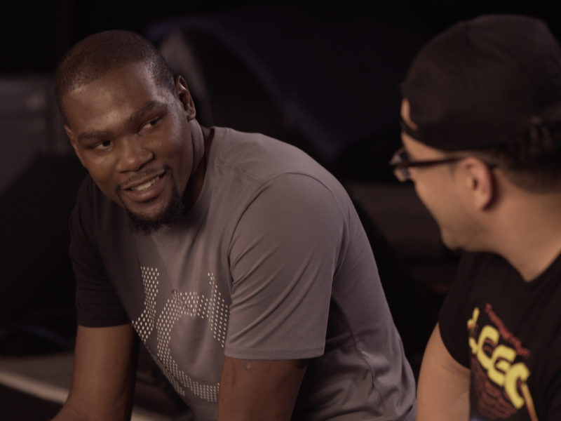 Rob Markman and Kevin Durant Talk Music on Genius