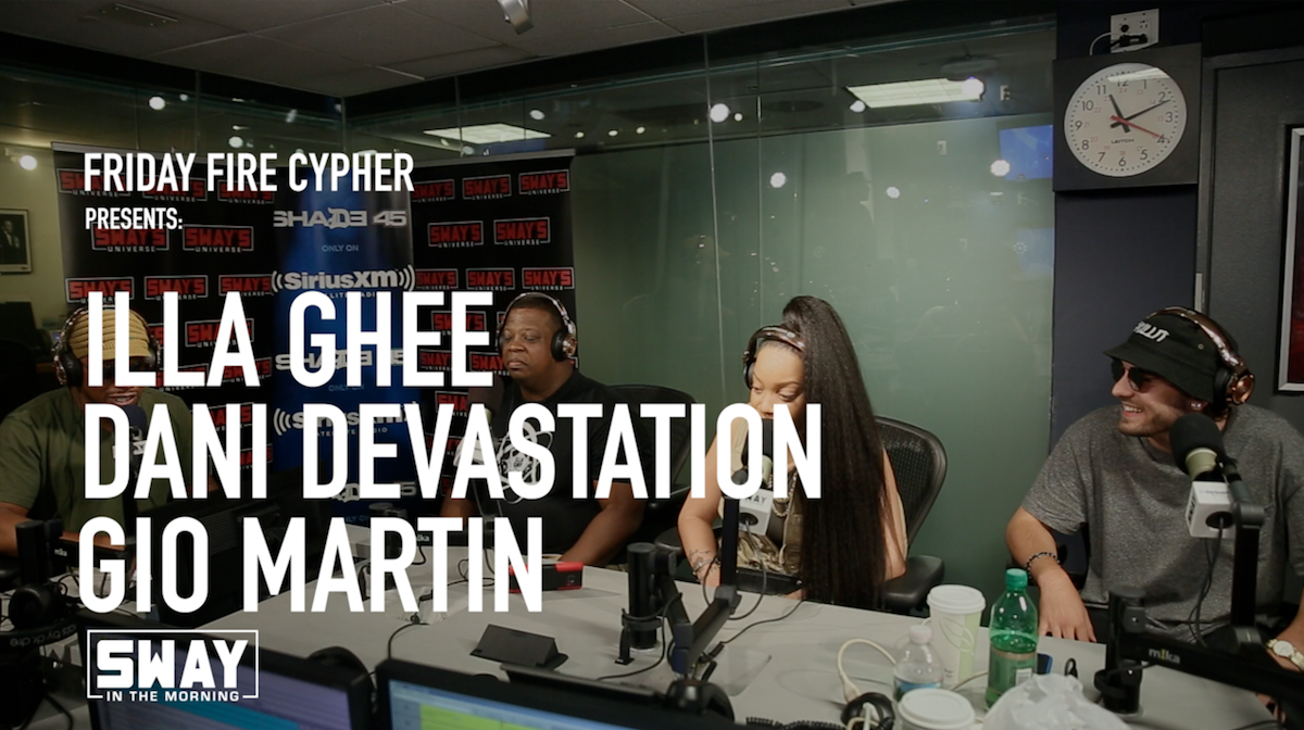 Friday Fire Cypher: Illa Ghee, Dani Devastation, & Gio Martin Freestyle Live & Completely KILL It