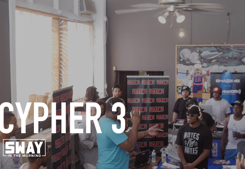 Friday Fire Cypher: Pt. 3 of Our Detroit Freestyles