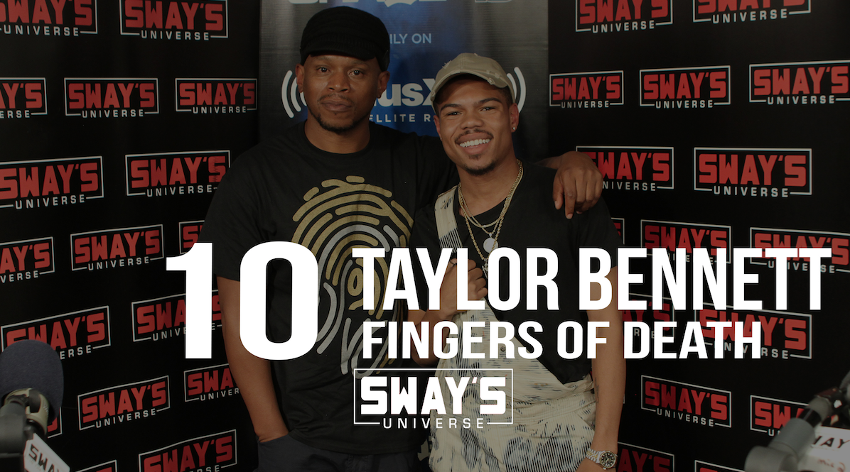 Taylor Bennett Raw Interview: Gets Emotional, Dedicates Song to Brother Chance The Rapper + Advice to Independent Rappers & Smashes the First Ever 10 Fingers of Death!