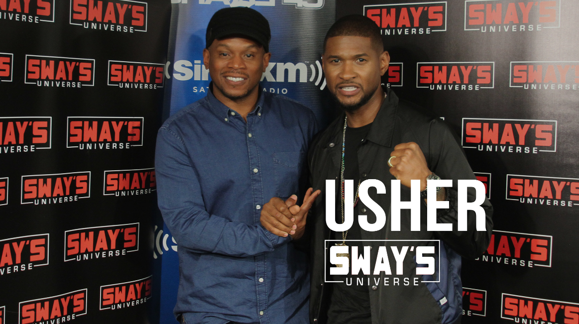 Usher Explains Why He Wanted a Sex Scene, Being Naked on Snapchat + Playing Sugar Ray Leonard & New Music