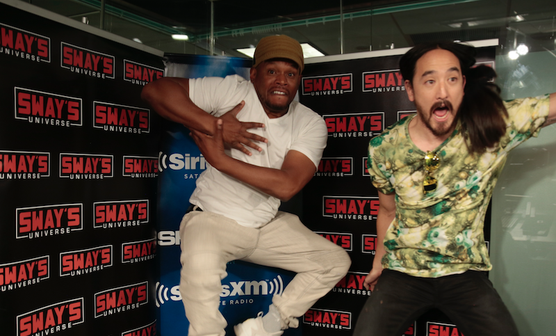 "Sway's Universe World Premiere: Steve Aoki ft. Lil Uzi Vert – ""Can't Lose"""