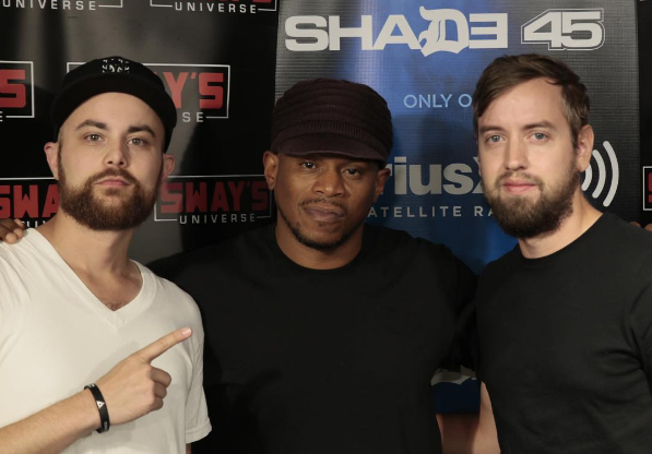 Statik Link Mixes Live on Sway in the Morning