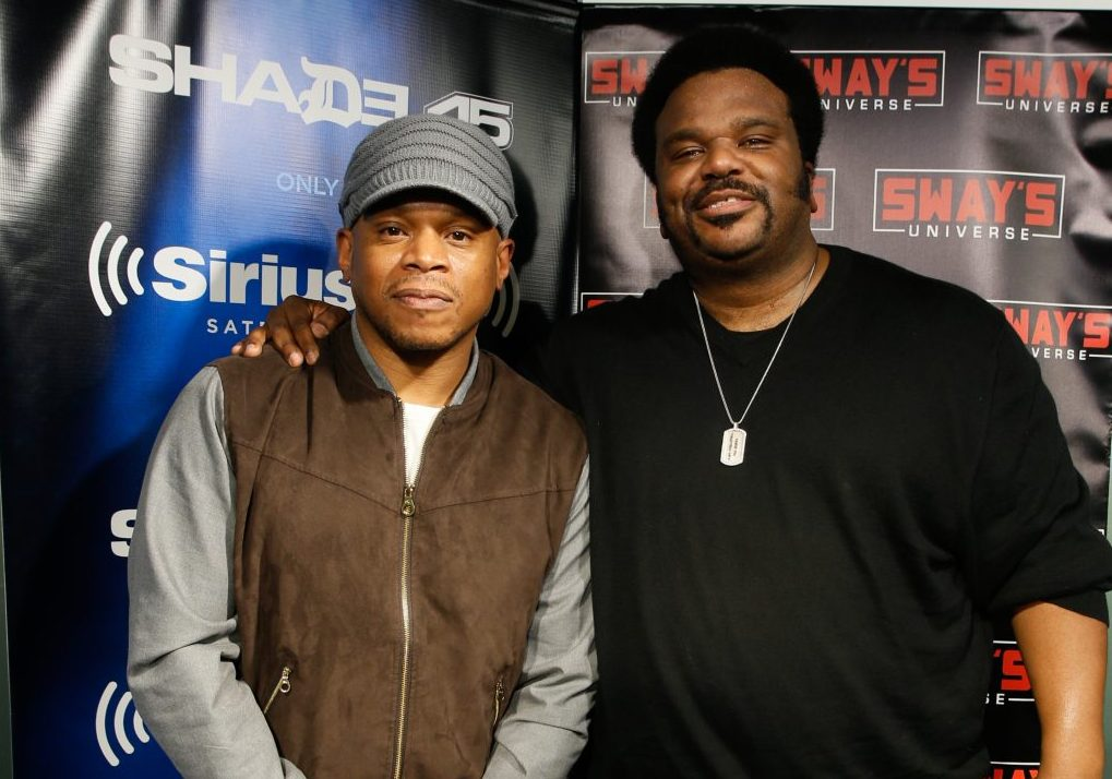 Craig Robinson Interview featuring Porn-Star Mary Jean on Sway in the Morning